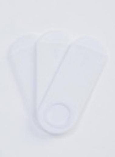 Defacto –Fit Erkek Çocuk Patik Çorap 3'lü Beyaz